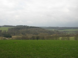 View over the Chess Valley