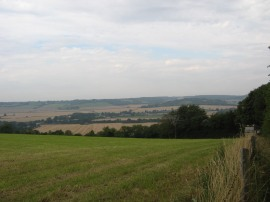 View across the Saunderton Valley