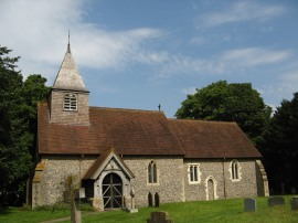 St Mary & St Nicholas church at Saunderton