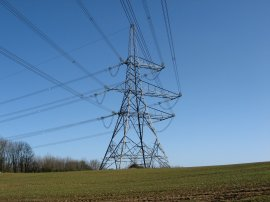 Electricity Pylon nr Bradwell Hall