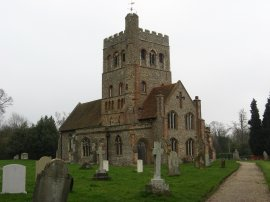 St Barnabus Church at Great Tey