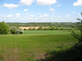 View across the Stour Valley