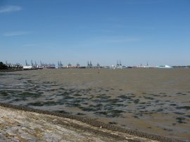 View across Harwich Harbour