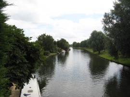 Crossing the River Cam