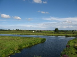 View towards the Ouse
