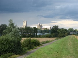 Approaching Ely