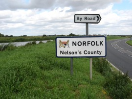 Entering Norfolk