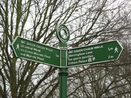 Fingerpost, Mottingham Sport Ground