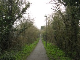 Footpath leading to Elmstead Lane