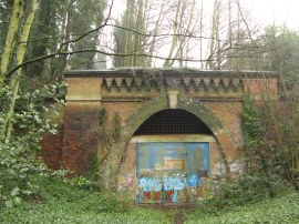 Southern Entrance to the Crescent Wood rail tunnel