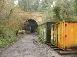 Northern Entrance to the Crescent Wood rail tunnel