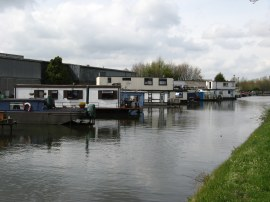 Houseboats nr Hayes