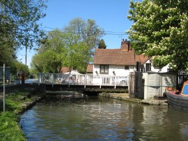 Winkwell Swing Bridge