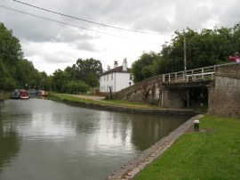 The start of the Wendover Arm