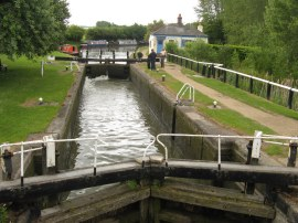 Lock 39, part of the Marsworth Flight