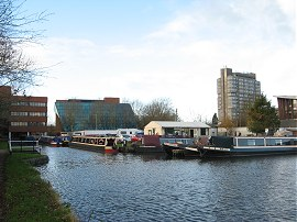 The end of the Aylesbury Arm