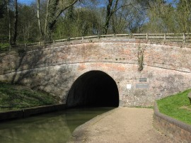 Blisworth Tunnel, Southern portal