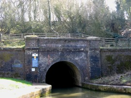 Blisworth Tunnel, Northern portal