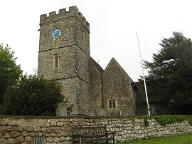 St Nicholas church, Boughton Malherbe
