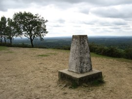 Trig Point on Pitch Hill