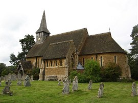St Peters Church, Hascombe