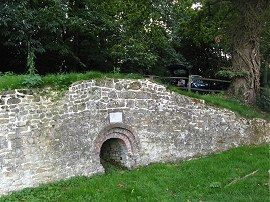 An old Lime Kiln, Hambledon