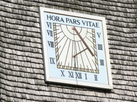 Sundial, Thursley Church
