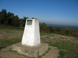 Trig Point S1535, Gibbet Hill
