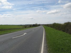 The A505 nr Royston