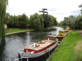 River Cam, Waterbeach