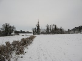 Bridleway to Cold Christmas