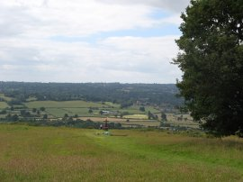 View from Kemsing Downs