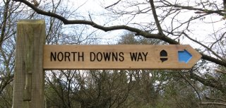 North Downs Way Waymarker
