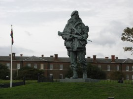 Statue, Royal Marines Museum