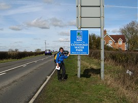 Sara besides the A361