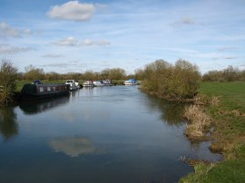 Boats on the Thames nr Lechlade