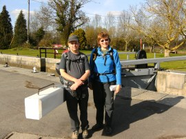Myself and Sara by St John's Lock