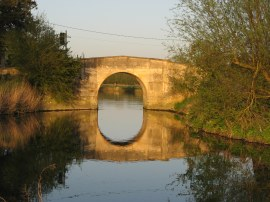 The Canal Bridge at Radcot
