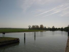 View across Port Meadow