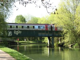 The Osney Rail Bridge