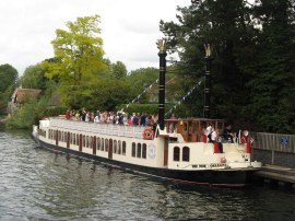 Paddle Steamer on the River Thames