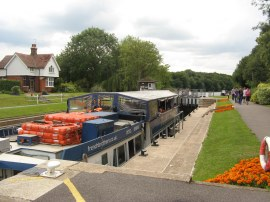 Boveney Lock
