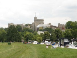 View towards Windsor Castle