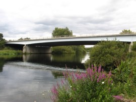 The M3 road bridge