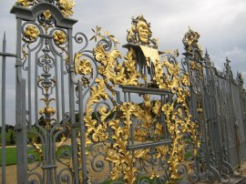 Fence surrounding Hampton Court Palace