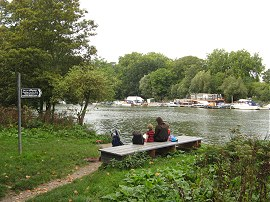 Site of the Hammerton's Ferry