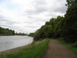 View downstream towards Kew