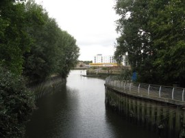 Mouth of the River Wandle