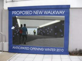 Proposed Walkway site