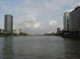View down the Thames